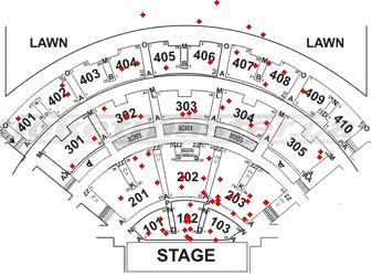 Molson Amphitheatre Toronto Seating Chart Christmas Tree Stand