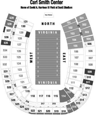 scott stadium seating chart