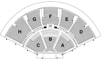 Klipsch music center seating chart with rows www napma net